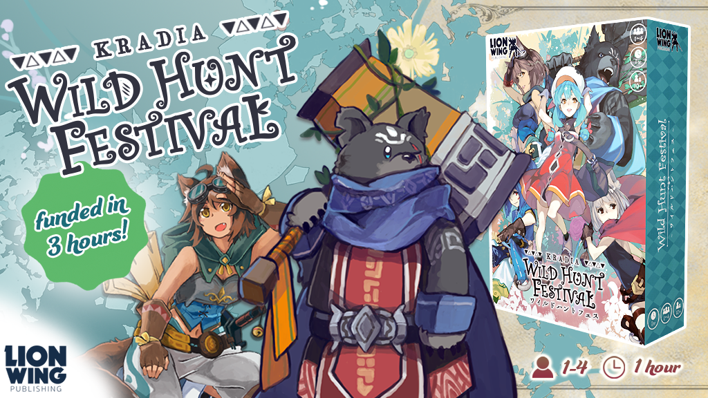 Kradia: Wild Hunt Festival — A JRPG Board Game project video thumbnail