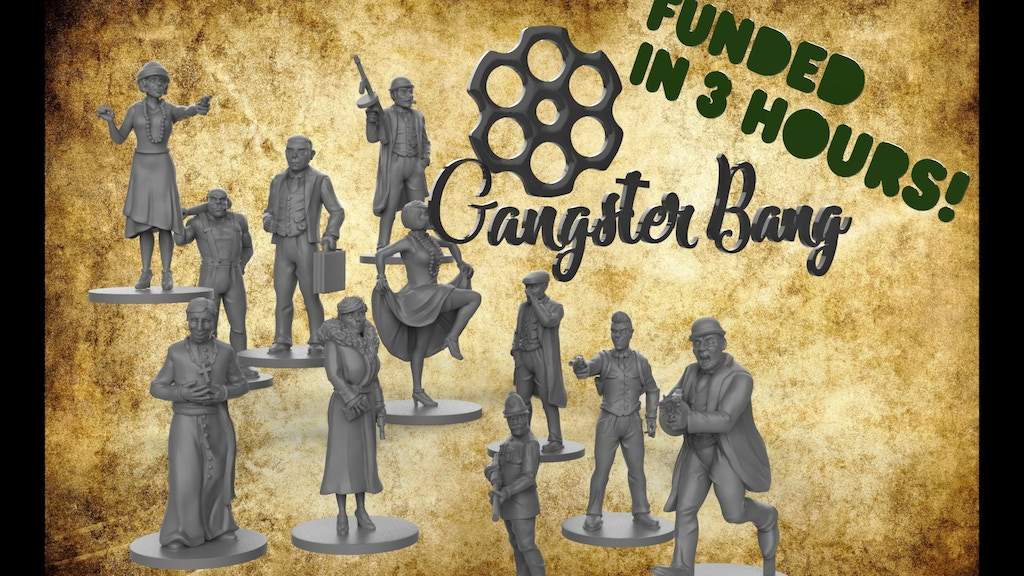 Project image for Gangster Bang Miniatures