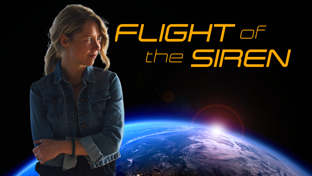 Flight of the Siren: a social science fiction novel project video thumbnail