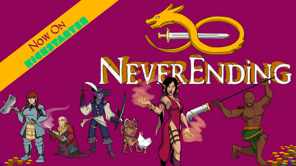 NeverEnding: Bring Your Stories To Life project video thumbnail