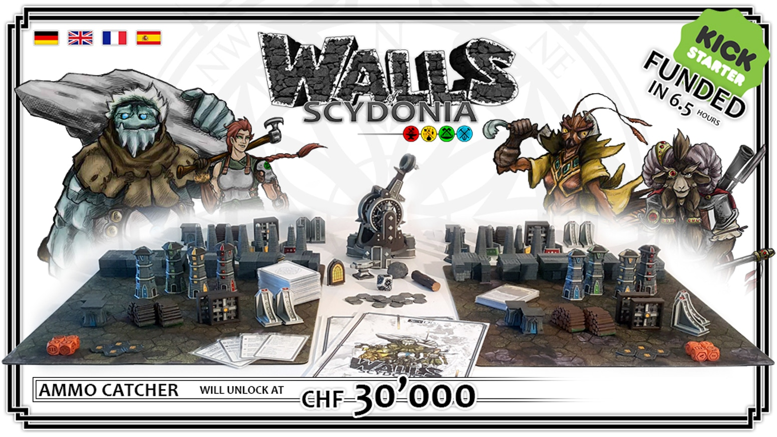 Make wise decisions and take down your opponents towers with a real catapult, while defending your own with wall stones and supports.