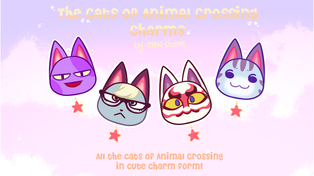 Project image for The Cats of Animal Crossing Charms
