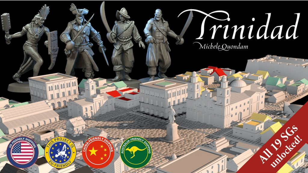Trinidad, the City Building Board Game project video thumbnail