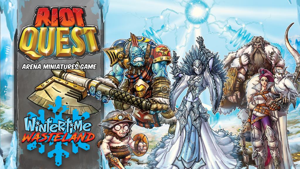 RIOT QUEST: WINTERTIME WASTELAND project video thumbnail