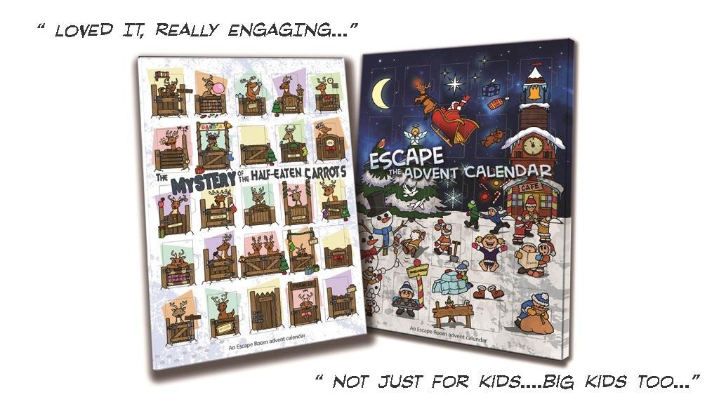 Escape Room Advent Calendar project video thumbnail