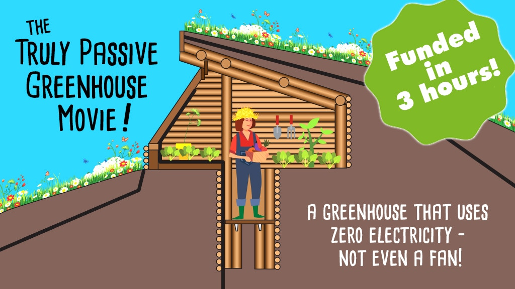 Devious Experiments for a Truly Passive Greenhouse! (Movie) project video thumbnail
