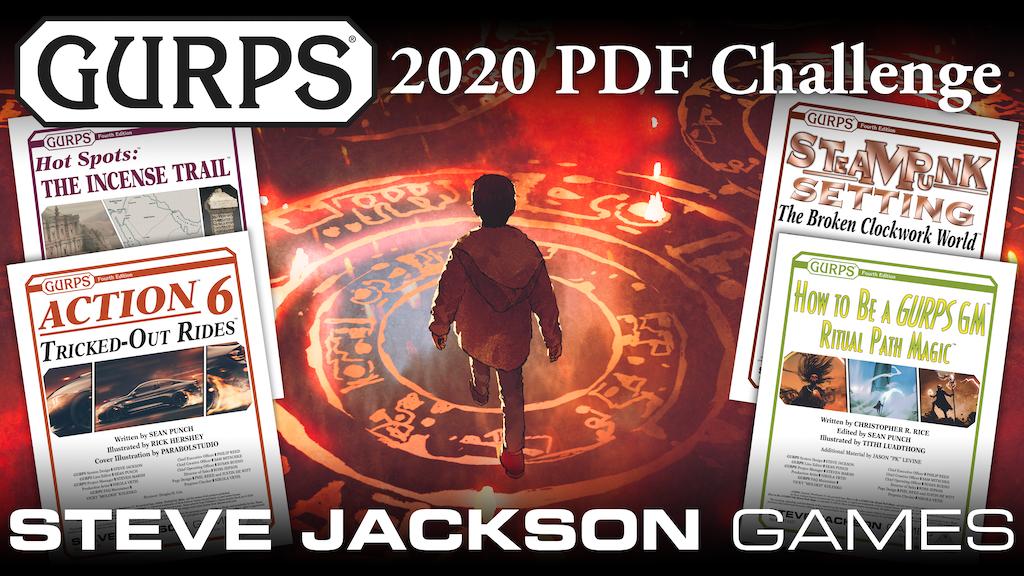 Project image for Steve Jackson Games' GURPS 2020 PDF Challenge