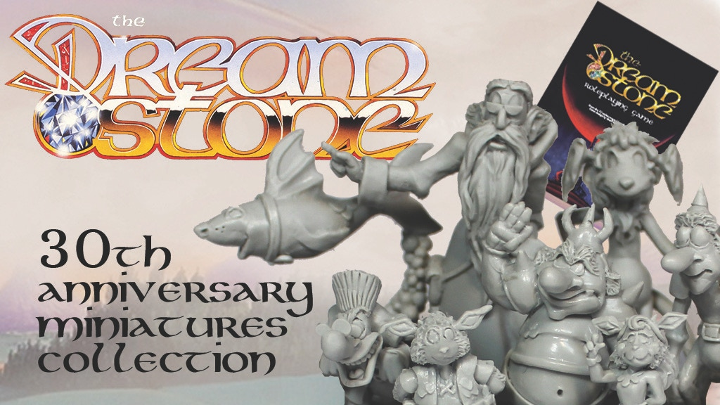 The Dreamstone: 30th Anniversary Miniatures Collection project video thumbnail