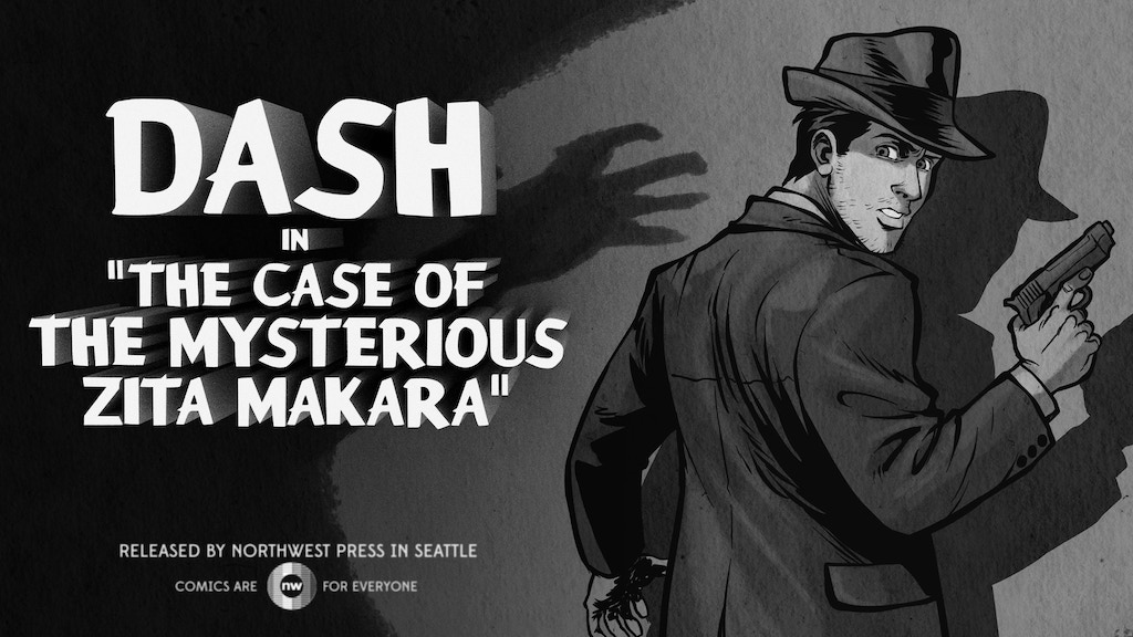 DASH: The Gay Noir Graphic Novel project video thumbnail