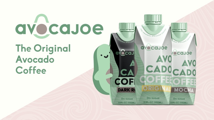 "Avocajoe is the first shelf stable, ready-to-drink ""butter"" coffee made with avocado"