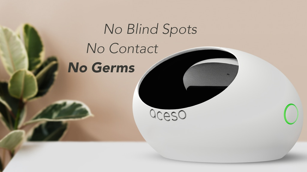 ACESO - The World's 1st No Blindspot No Contact UV Sanitizer