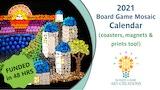 2021 Board Game Mosaic Calendar thumbnail