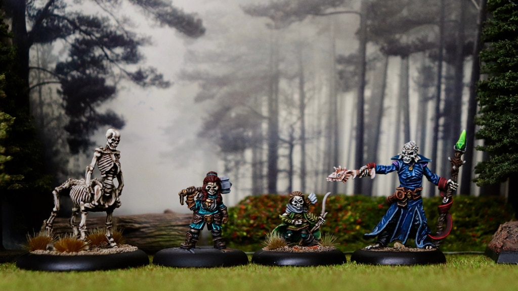 Project image for Undead Skeleton RPG Miniatures - Fantasy Races