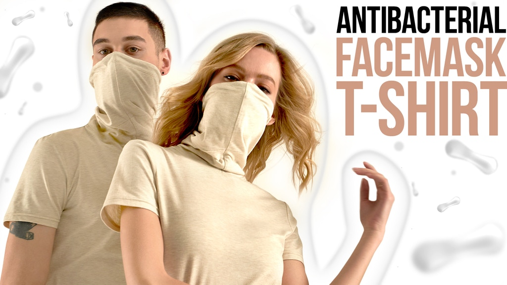 Antibacterial Facemask And Stylish T-Shirt - All In One project video thumbnail