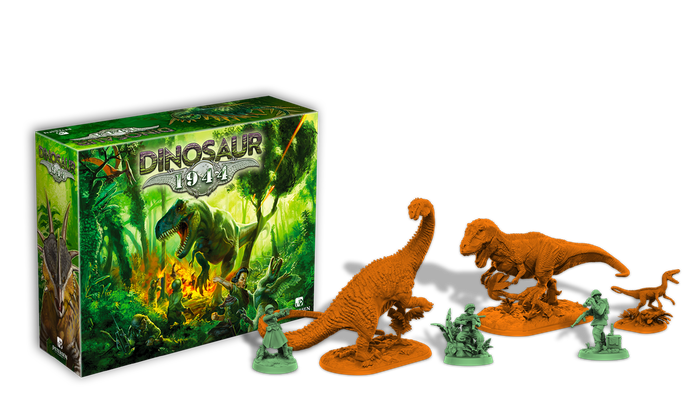 It's army men vs. dinosaurs! A cooperative defense/combat game.