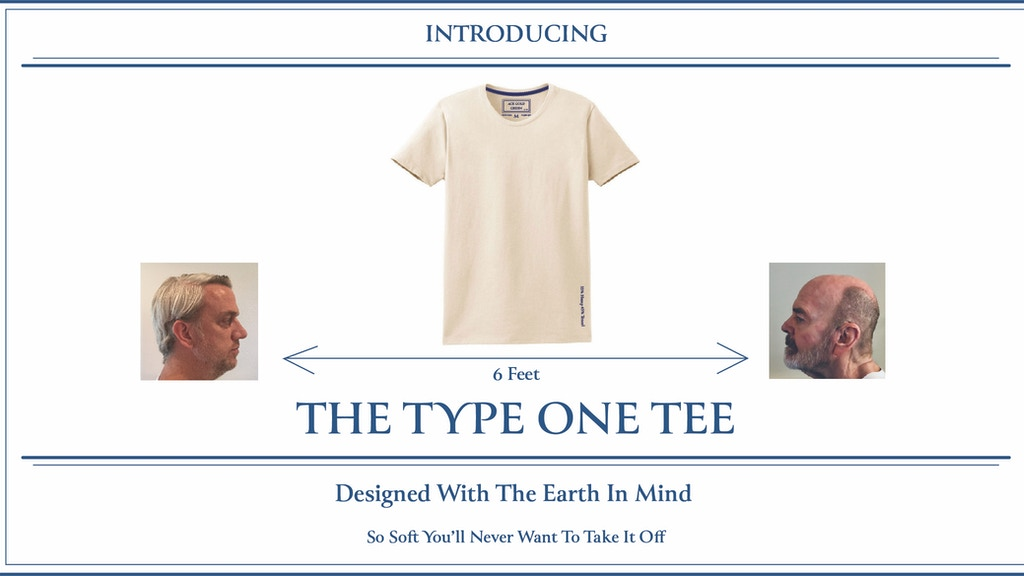 TYPE ONE TEE: Designed With The Earth In Mind project video thumbnail