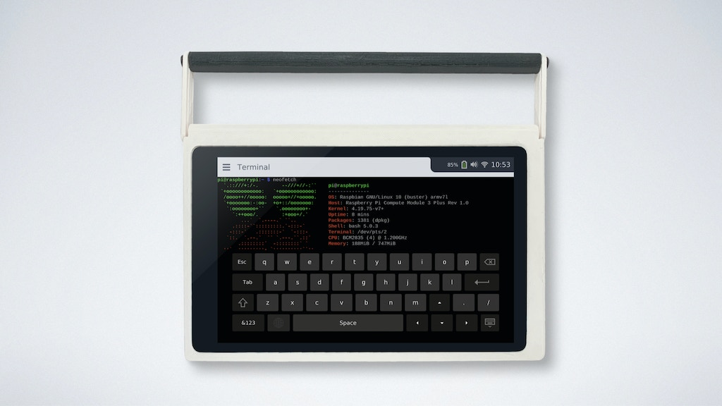 CutiePi Tablet - Raspberry Pi, Untethered project video thumbnail