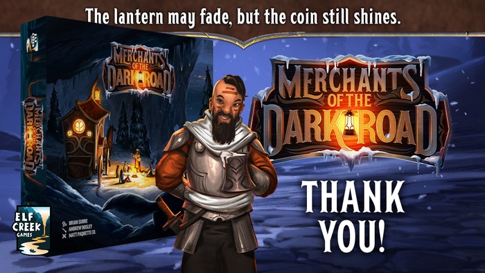 The road is costly, but the rewards are great! Merchants of the Dark Road is a strategy board game set in an exciting fantasy world.