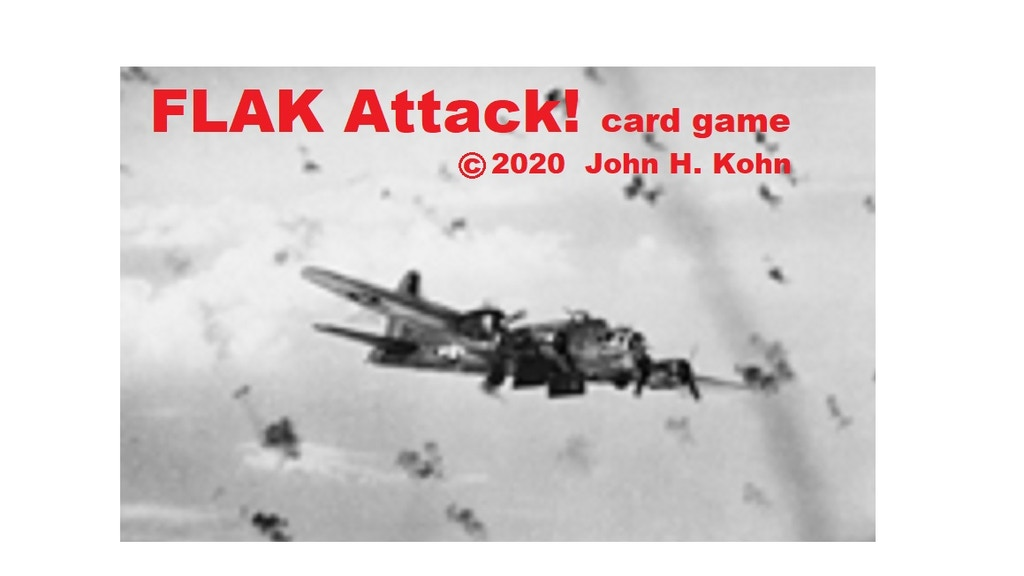 FLAK Attack! card game (manufactured) project video thumbnail