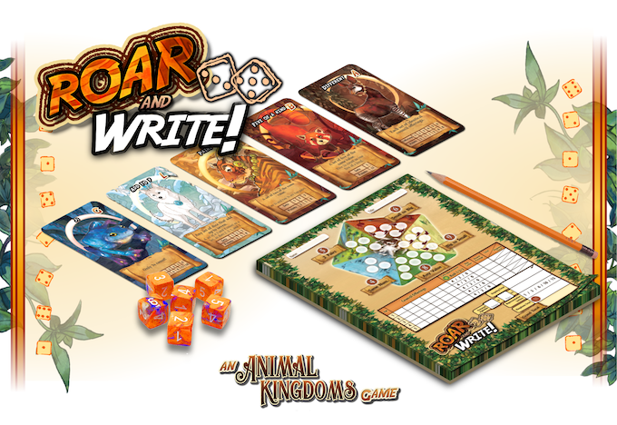 Roar and Write!