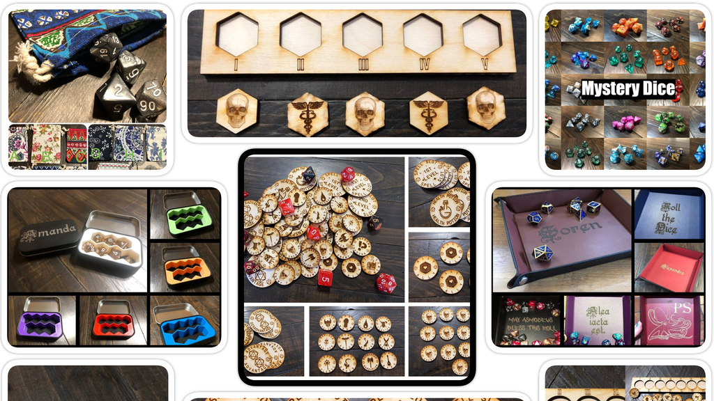 Project image for Dungeons and Dragons Accessories Pack