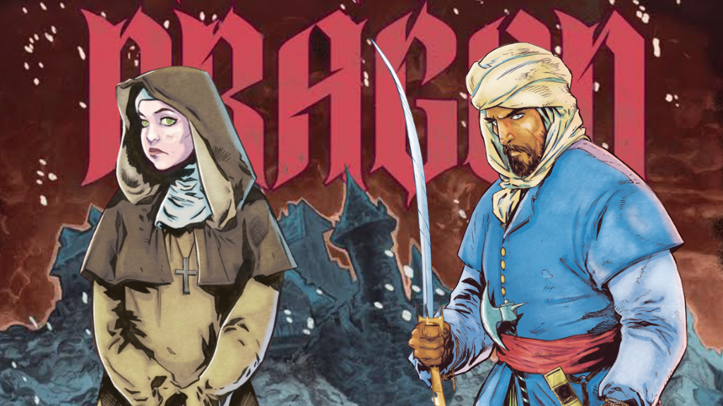 DRAGON: a new graphic novel by Saladin Ahmed and Dave Acosta project video thumbnail