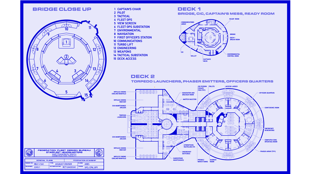 Project image for USS Ares Blueprints