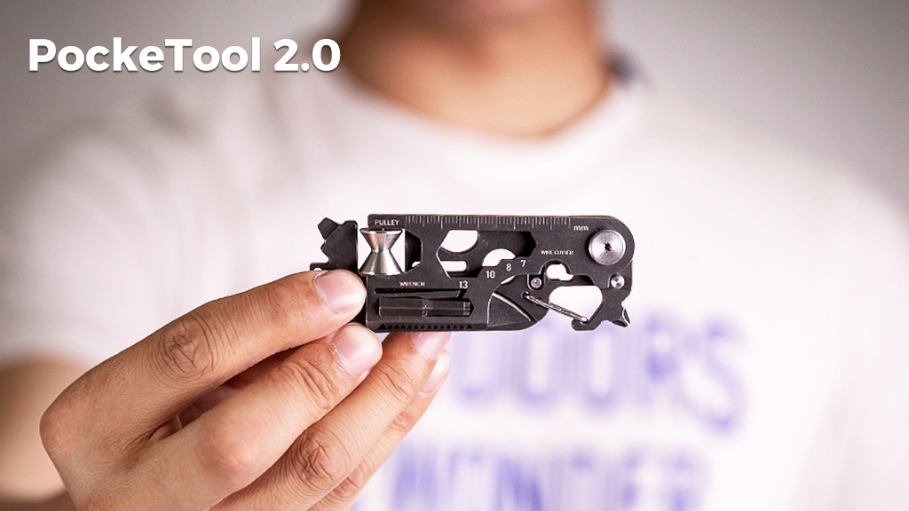 PockeTool 2.0 | An EDC Tool that supports all your needs project video thumbnail