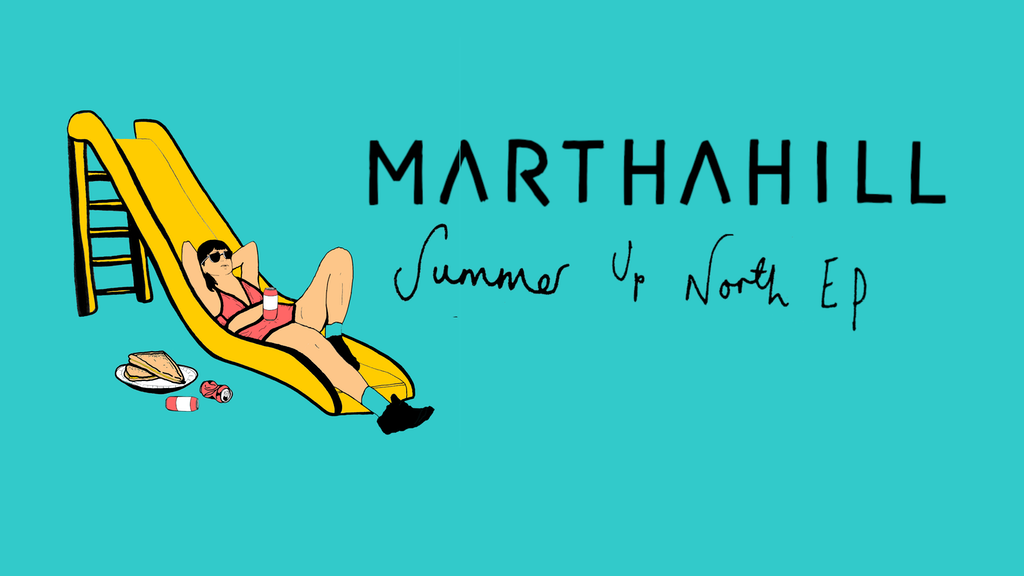 "Project image for Pre-Order Martha Hill's EP ""Summer Up North"""