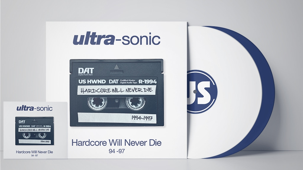 Ultra-Sonic Hardcore Will Never Die 1997 Oldskool Rave album project video thumbnail