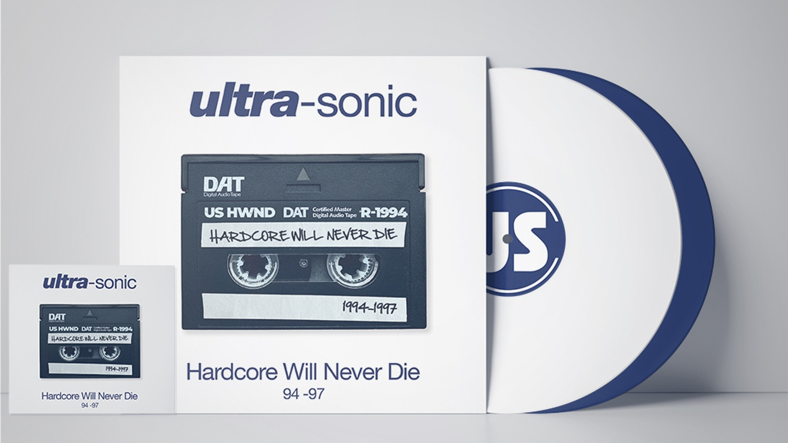 "WE DID IT !  'HARDCORE WILL NEVER DIE"" on CD & Vinyl.  15+ Oldskool US bangers recorded between 1994-1997."