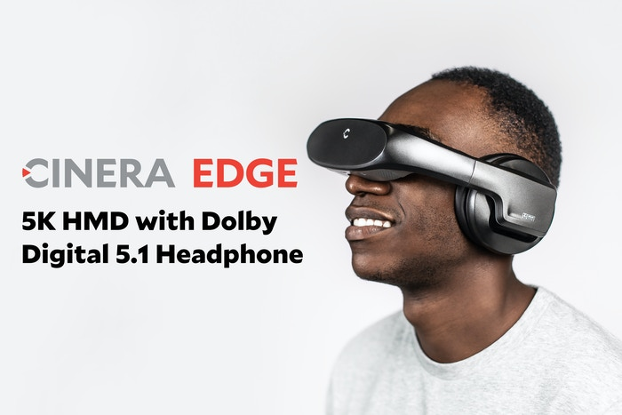 The new Cinera, Cinera Edge is live on Kickstarter now- 5K micro OLED - Dolby Digital 5.1 Channel Headphone