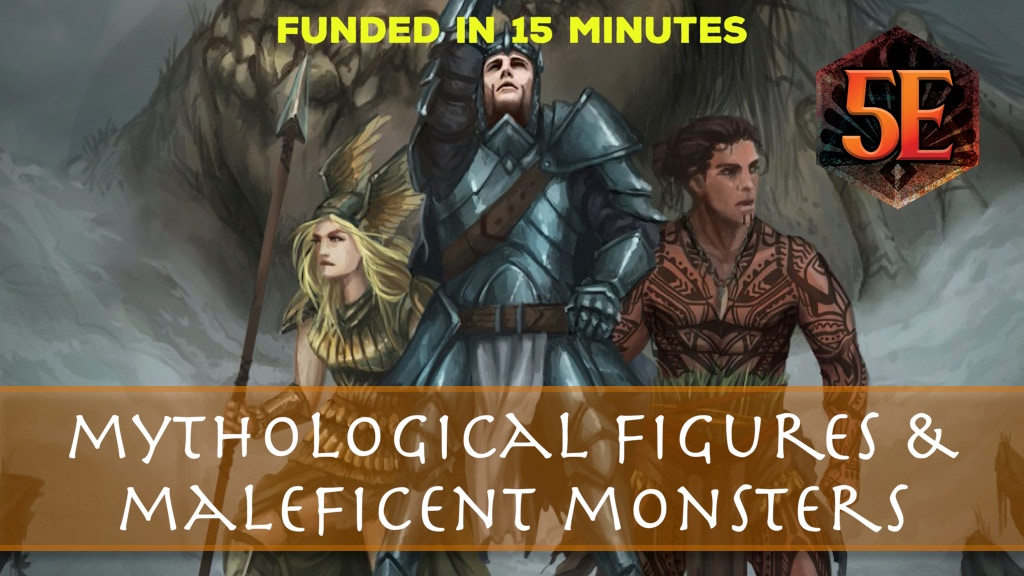 Mythological Figures & Maleficent Monsters for D&D project video thumbnail