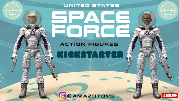 You can still win the Space Race with the United States Space Force action figures! Pre-order yourUnited States Space Force action figures at thelink below