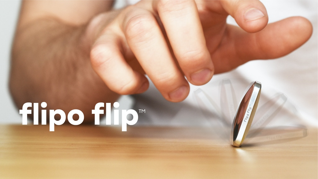 Flipo Flip™ — Pocket Size Kinetic Skill Toy project video thumbnail