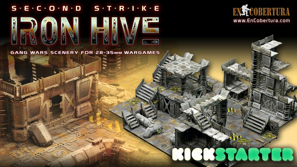 IRON HIVE- Second Strike project video thumbnail
