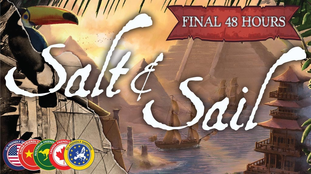 Salt & Sail: A game of discovery during the Age of Sail project video thumbnail