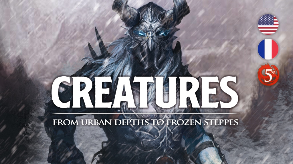 Project image for Creatures: Complete Monster Compendium for 5E