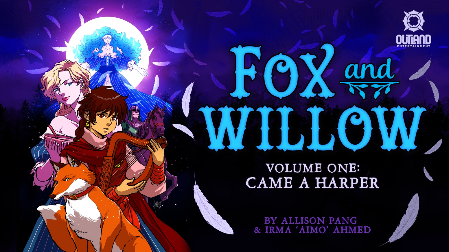 The Fox & Willow webcomic series by Allison Pang and Irma 'Aimo' Ahmed is coming to print!