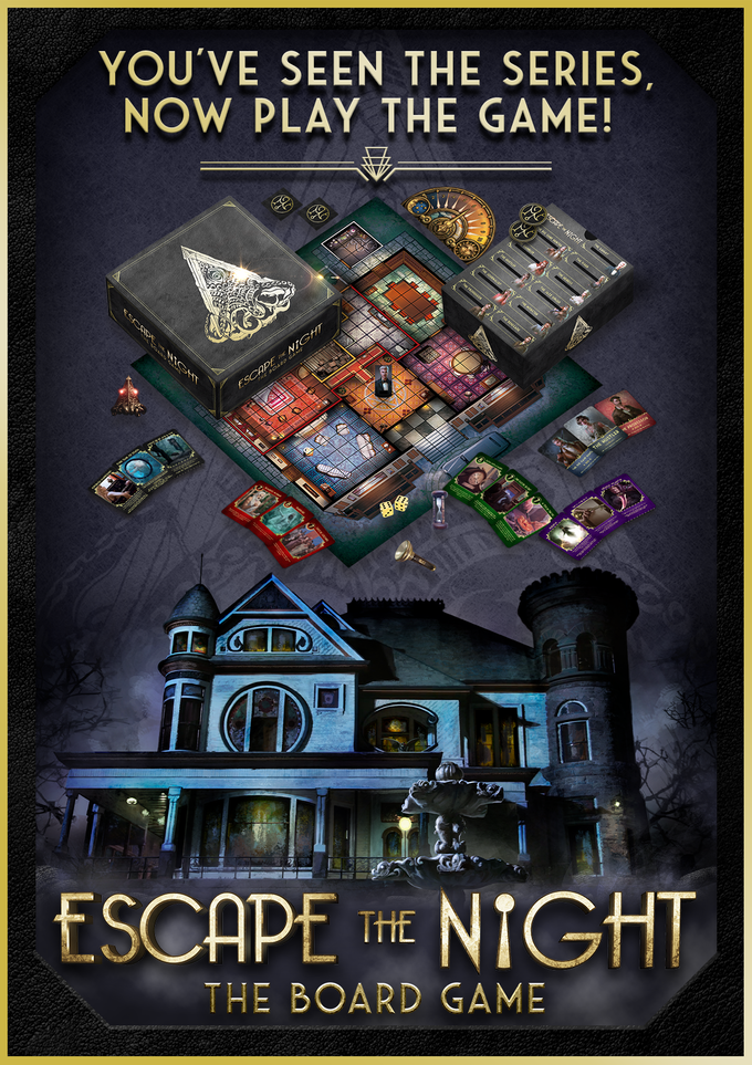 Escape The Night Board Game