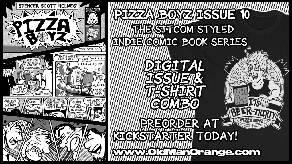 Pizza Boyz Issue 10 Indie Comic Book Pre Order Party!!! project video thumbnail