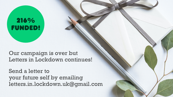 Letters in Lockdown is a writing project designed to help us process and remember the personal experience of living through COVID-19.