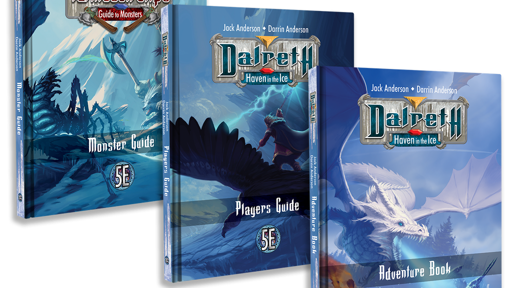 Project image for Dalreth - Haven in the Ice 5E RPG Adventure Setting (Canceled)