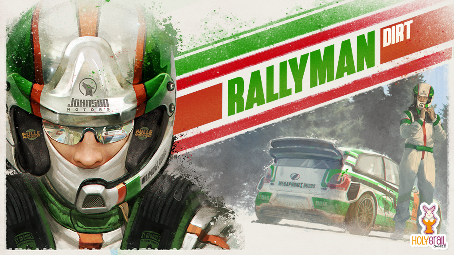 Get behind the wheel and race against the clock as you drift, slide, jump and push your luck through your own high-octane Rally!