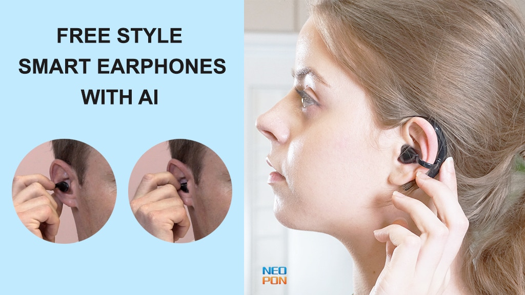 NEOPON 2 | Flexible Earphones for Every Ear project video thumbnail