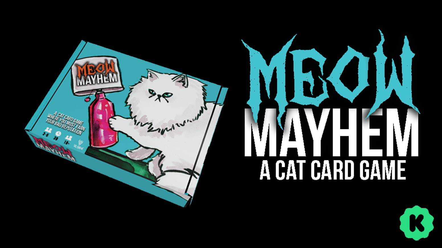 A Cat Card game comprised of Chaos and earning a Bad Reputation!