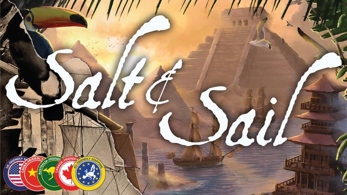 Make discoveries as you fend off pirates and navigate through storms--exploration and adventure for 2-5 players.