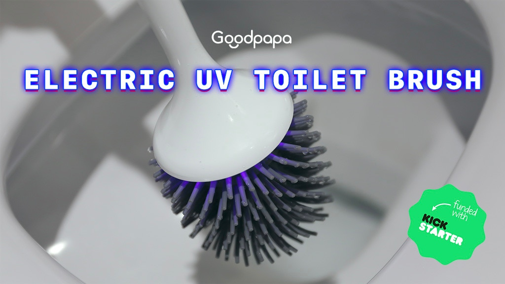 World's First Electric Toilet Brush With Self-Cleaning project video thumbnail