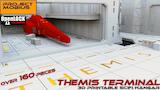 3D Printable Scifi Hangar - Themis Terminal [OpenLOCK] thumbnail