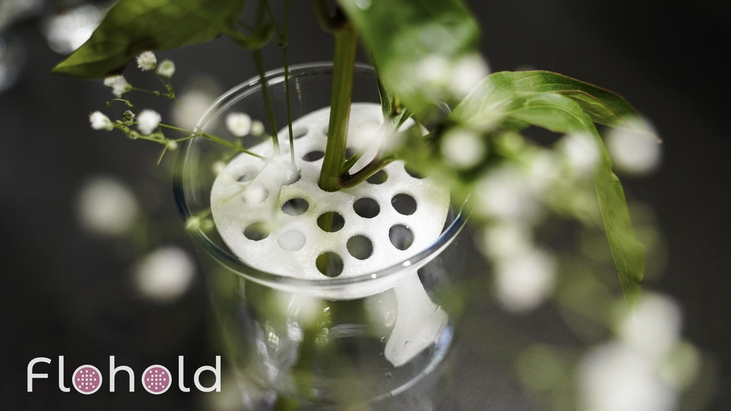 Flohold - A New Way to Organize Your Flowers